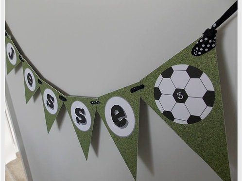 Football Party Bunting
