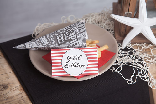 Pirate Food Tent Cards