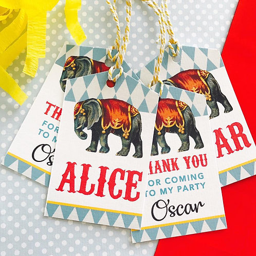 Circus Party Bags