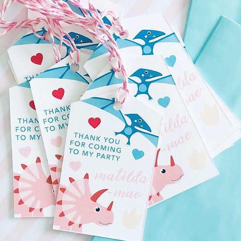 Dinky Dino Party Bags (girl)