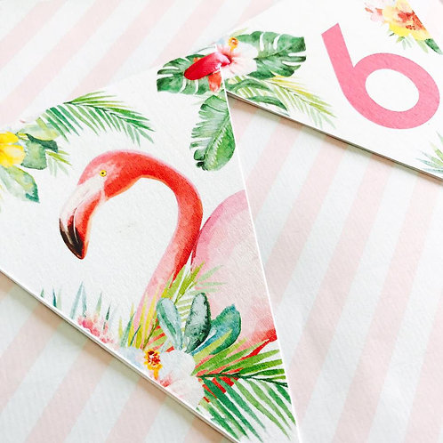 Tropical Party Bunting