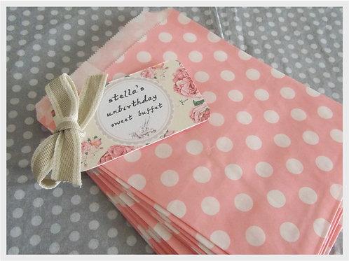 Alice in Wonderland Sweet Bag pack
