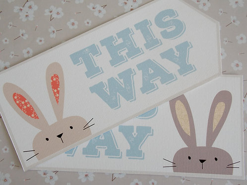 Easter Arrow Signs