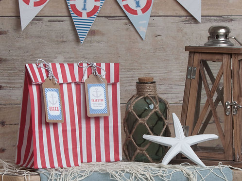 Nautical Party Bags