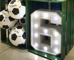 Light up number