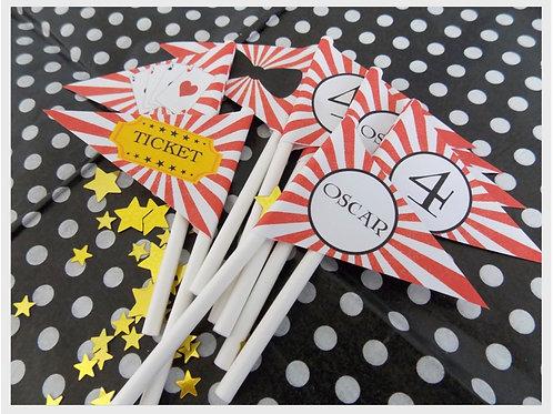 Magic Party Mini Flags
