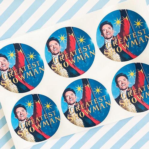 Greatest Showman Stickers