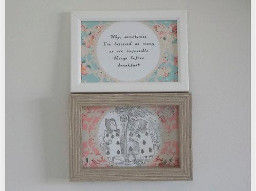 Alice in Wonderland Mini Prints