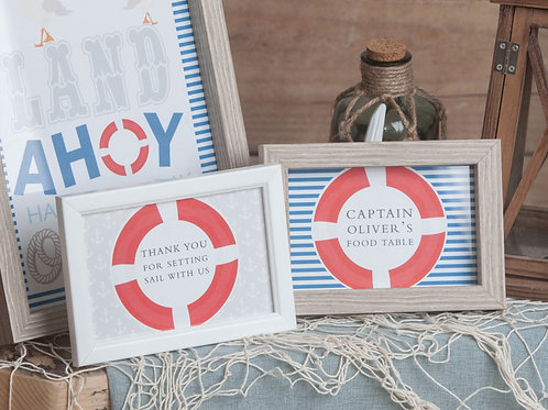 Nautical Mini Prints