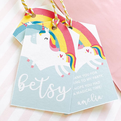 Cute Unicorn Party Bags