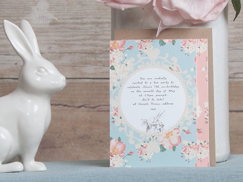 Alice in Wonderland Invitations (standard)