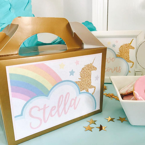Unicorn Food Boxes