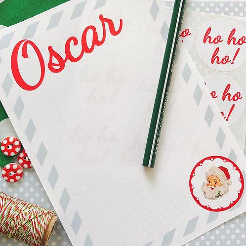 Christmas Letter Writing Set