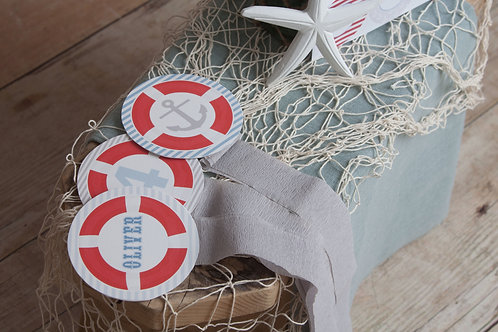 Nautical Rosette Decorations