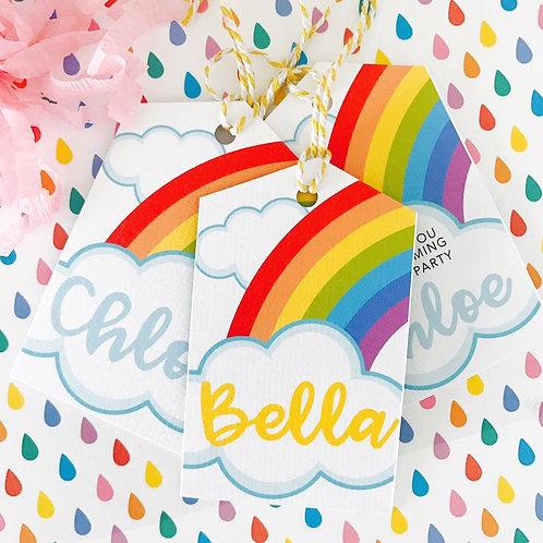 Rainbow Unicorn Tags