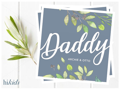 Father's Day Card- Daddy
