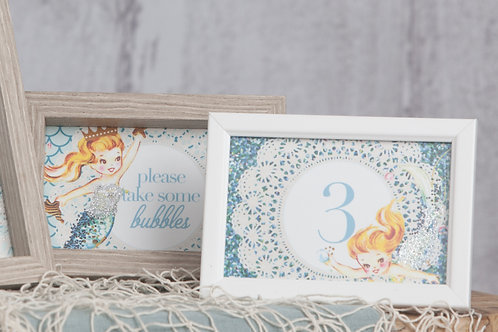 Mermaid Mini Prints