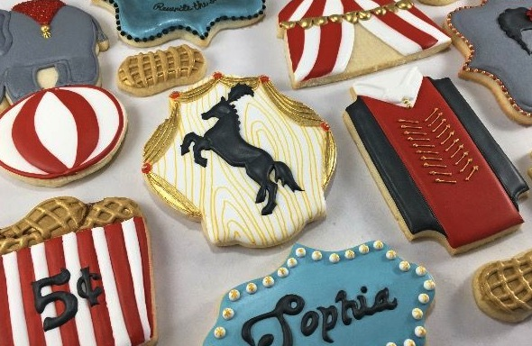 Greatest Showman Cookies