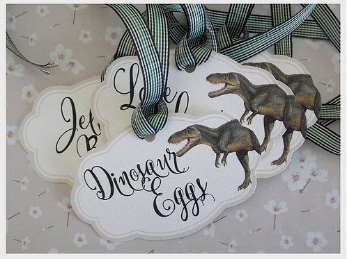 Dinosaur Roar Large Hang Tags