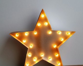 Light up stars
