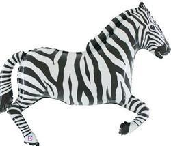 Zebra balloon