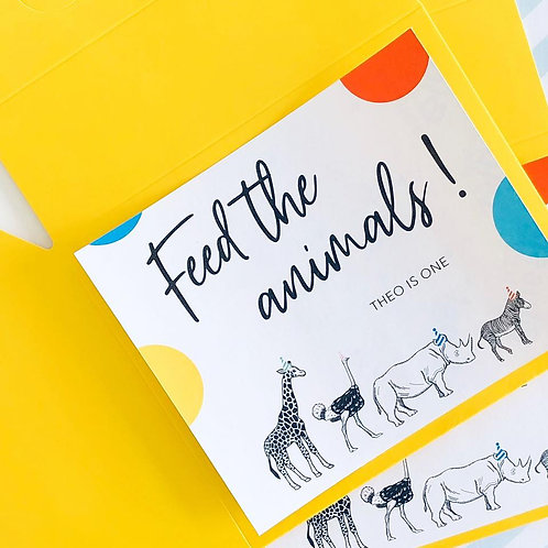 Party Animal Food Boxes