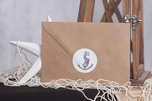 Pirate Envelope Seals
