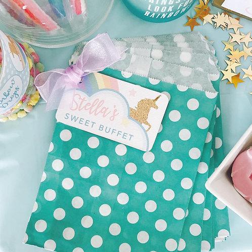 Unicorn Cupcake Sweet Bag Pack