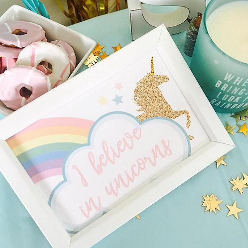 Unicorn Mini Prints