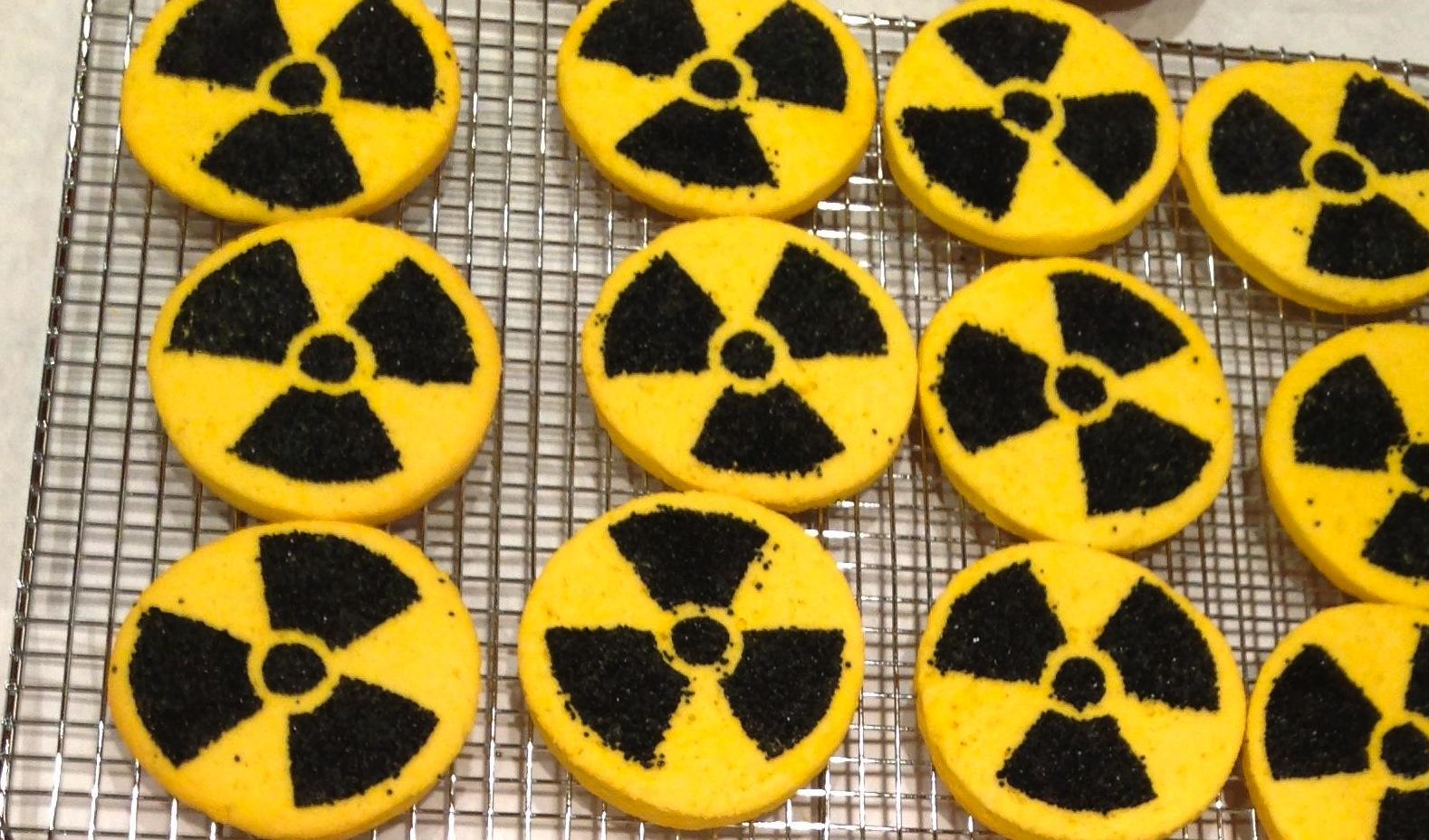 Radioactive cookies