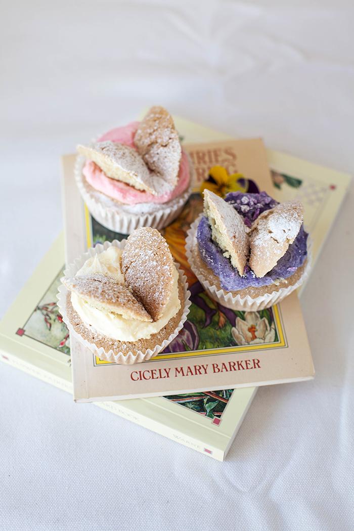 Flower Fairy cupcakes