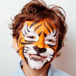 Tiger facepaint