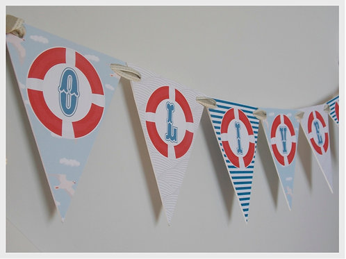 Nautical Party Bunting