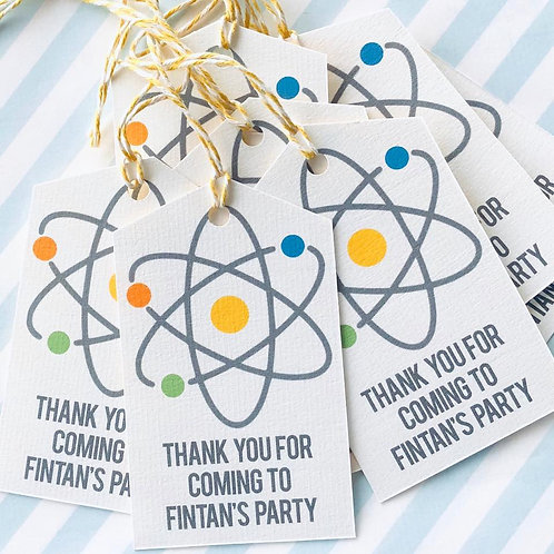 Science Party Tags