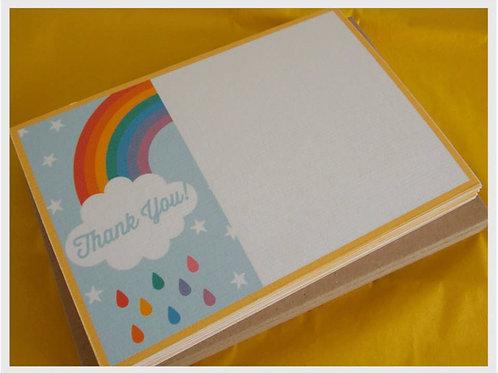Rainbow Thank You Cards