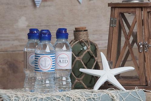 Nautical Bottle Labels