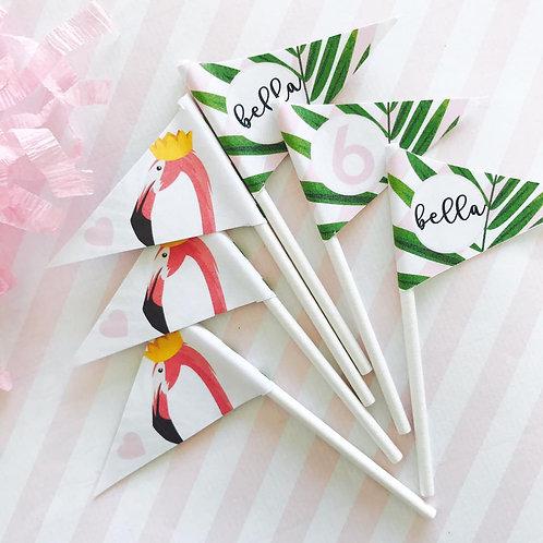 Flamingo Mini Flags