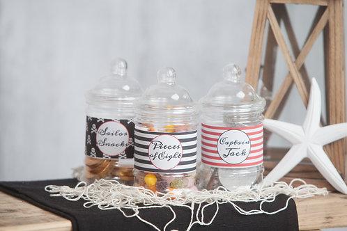 Pirate Sweet Jars
