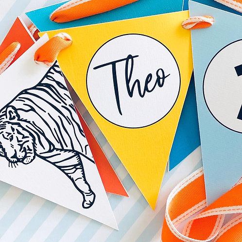Party Animal Bunting