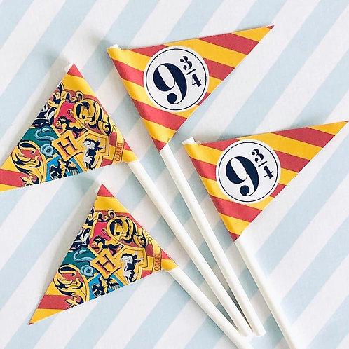 Harry Potter Mini Flags