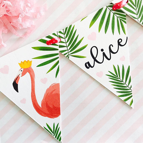Flamingo Party Bunting