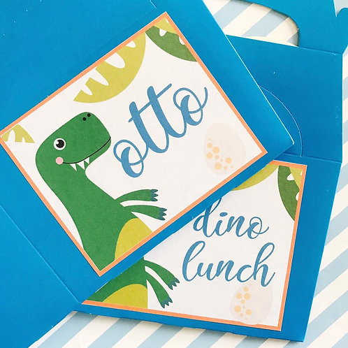 Dinky Dino Food Boxes