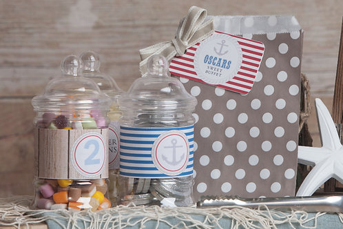 Nautical Sweet Jars