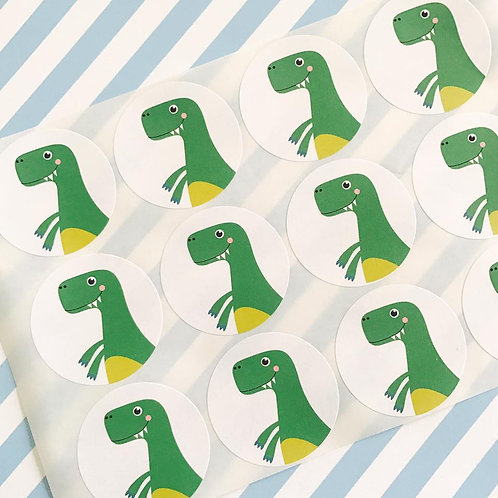 Dinky Dino Envelope Seals