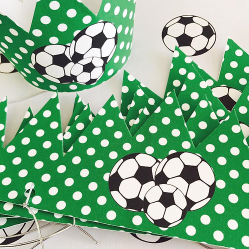 Football Party Crowns