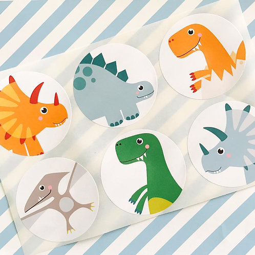 Dinky Dino Stickers