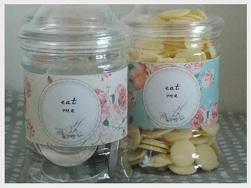 Alice in Wonderland Sweet Jars