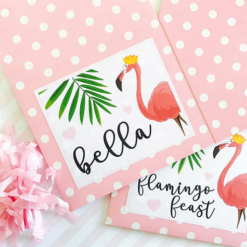 Flamingo Food Boxes