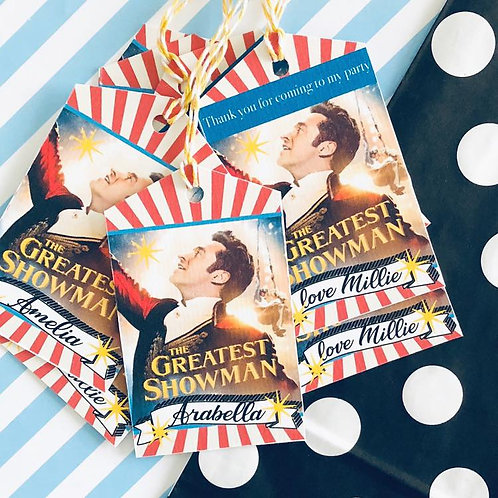 Greatest Showman Party Bags