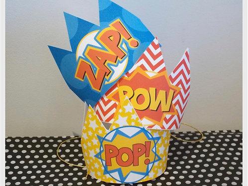 Superhero Party Crowns